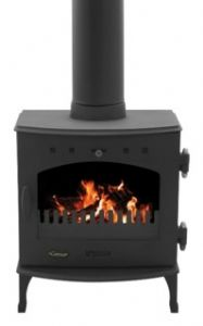 Carron 4.7KW Stove Matt Black